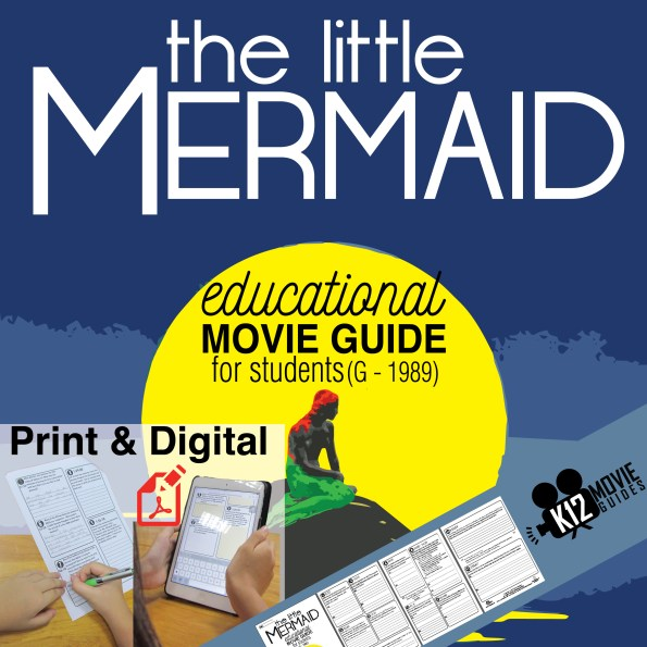 The Little Mermaid Movie Guide - Cover