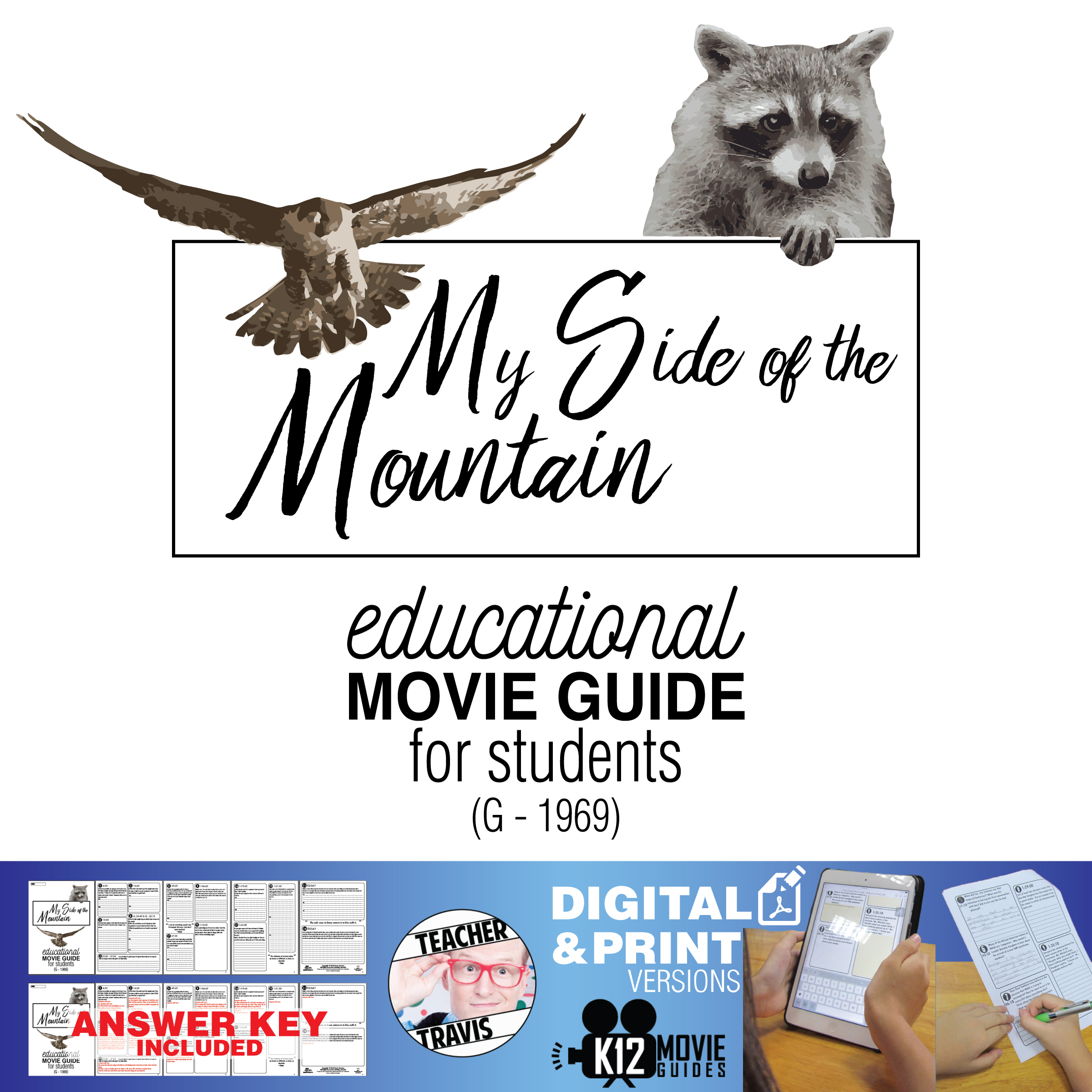 My Side of the Mountain Movie Guide | Film Questions | Worksheet (G - 1969)