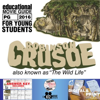 Robinson Crusoe | The Wild Life Movie Guide | Questions | Worksheet (PG - 2016)