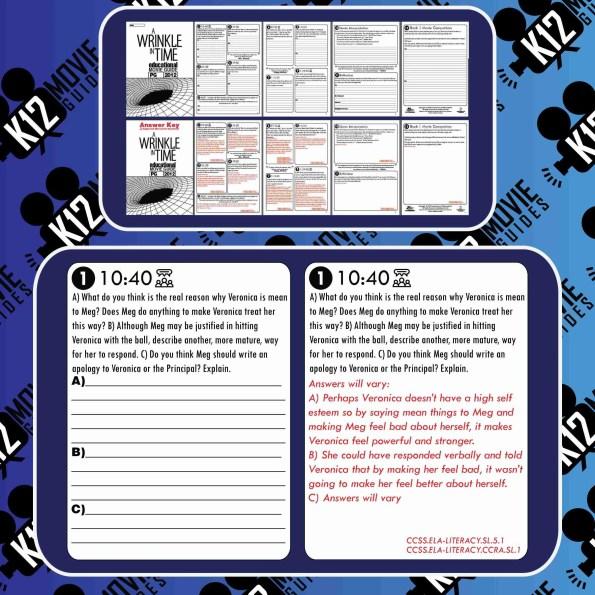 Because of Winn-Dixie Movie Guide | Questions | Worksheet (PG - 2005) Sample