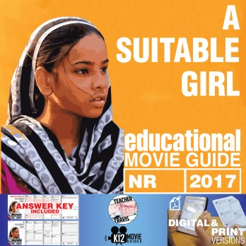 A Suitable Girl Documentary Movie Guide   Questions   Worksheet (2017) Cover