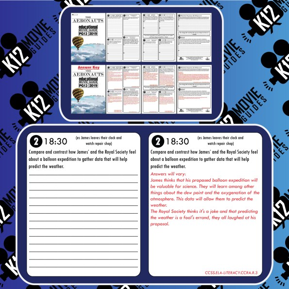 The Aeronauts Movie Guide | Questions | Worksheet (PG13 - 2019) Free Sample