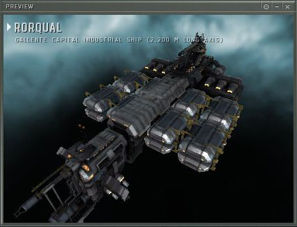 ORE Capital Industrial Ship