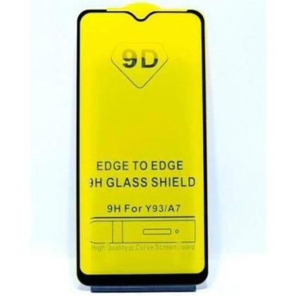 Oppo F9 Screen Protector 9D Glass Edge To Edge Full Screen Cover Full Glue Glass – Black