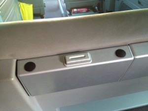 VW T5 California headrest removal