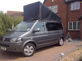 DIY VW California Roof Cover
