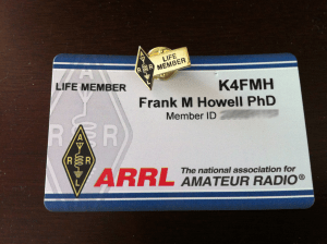 ARRL Life Membership Card & Pin