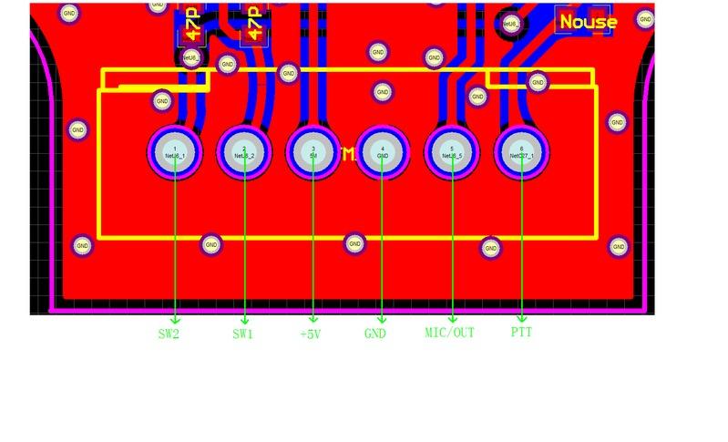 tyt th 9800 mic pinout k4nha rh k4nha com Cobra CB Mic Wiring Diagram Kenwood Microphone Wiring Diagram