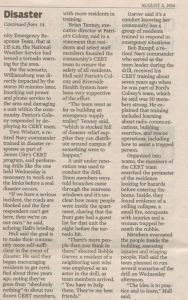 Continuation of the article in the August 2 Virginia Gazette.