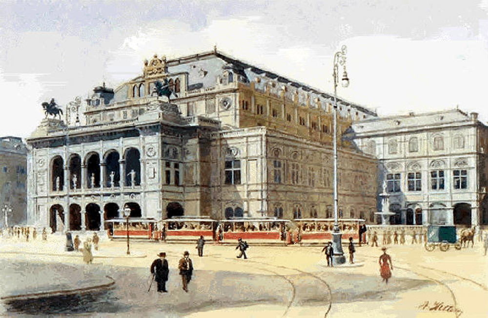 Image result for academy of fine arts vienna hitler