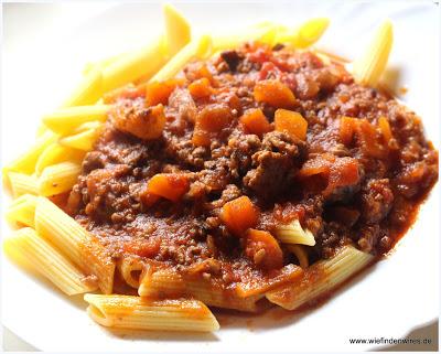 Sauce Bolognese mit der Krups Prep and Cook