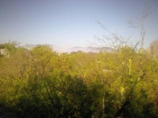 La brume au fond de la vallée..