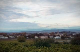 le haut Languedoc au loin.