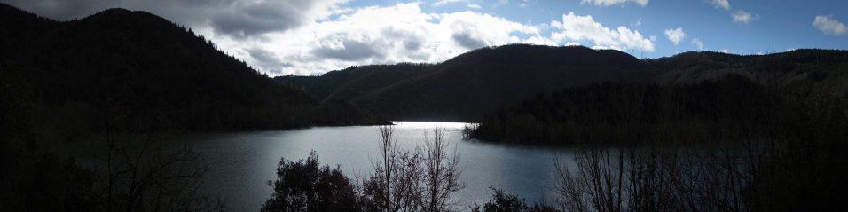 le lac d'Avène