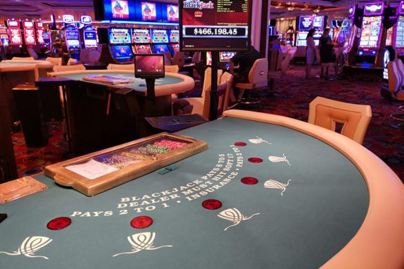 Cambodian casino reopens with safety measures
