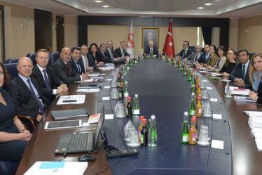 TÜSİAD PARKUR (Parlamento ve Kamu Kurumları ile İlişkiler) Heyeti Ankara'yı ziyaret etti 10