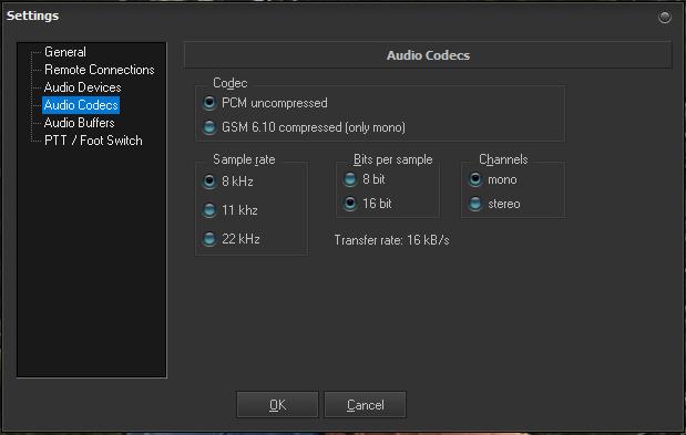 AudioCodecs