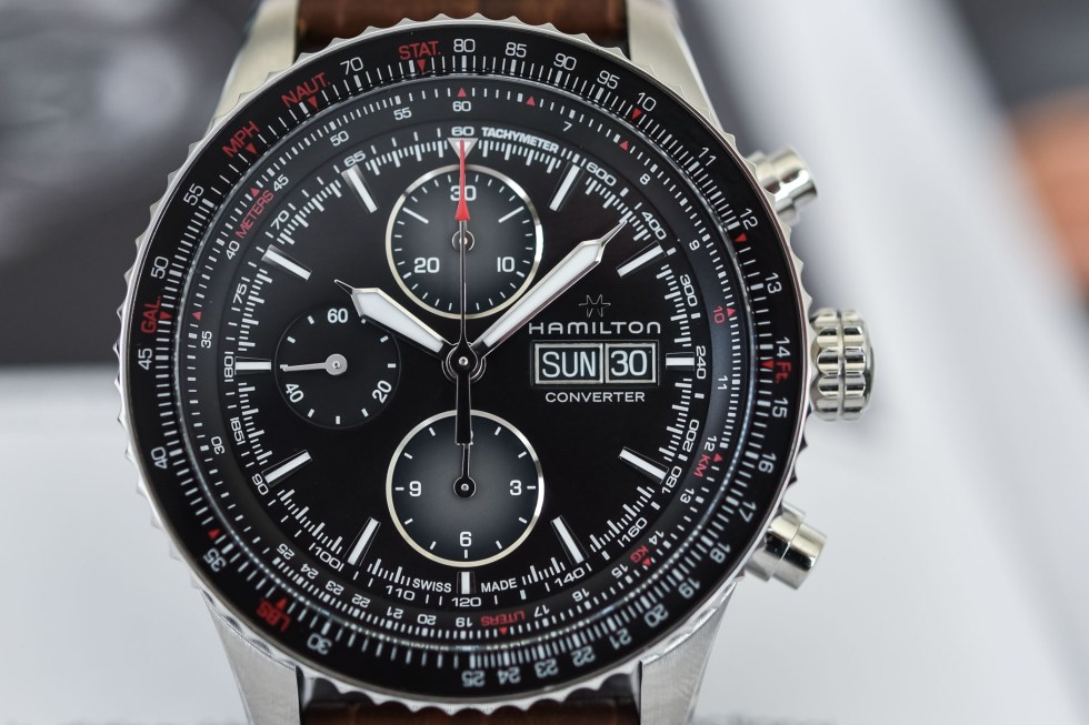 Hamilton Khaki Aviation Converter Auto Chrono H76726530