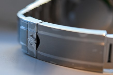 Rolex safety clasp (in stickers)