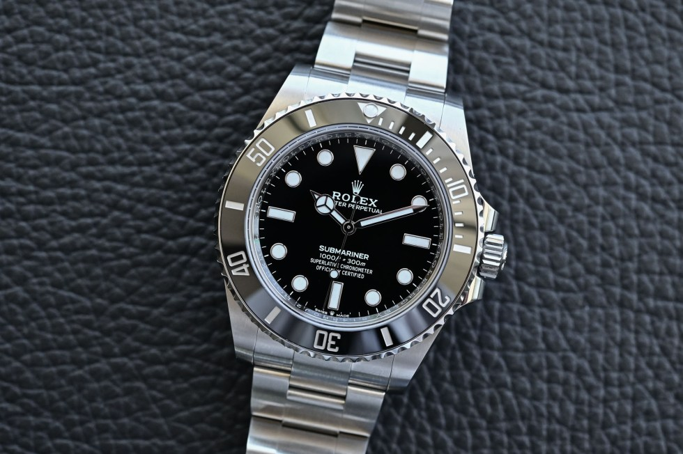 Rolex Submariner 41mm 124060 no-date Steel 2020 - case, dial and bezel