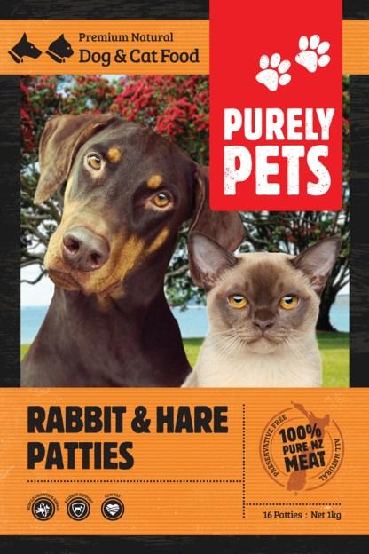 rabbit hare patties