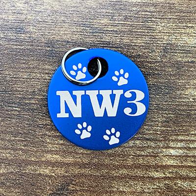 NW3 - BLUE Brag Tag