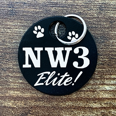 NW3 Elite - Black Brag Tag