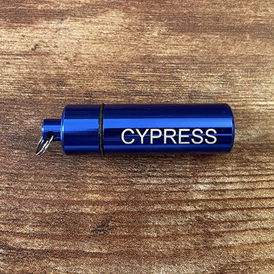 Blue = CYPRESS Travel Tube