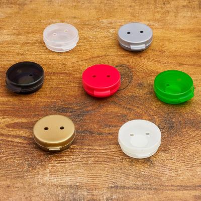 Scent Vessels-Plastic Button Tins