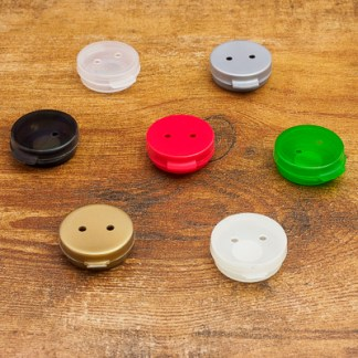 Scent Vessels-Plastic Button Tins