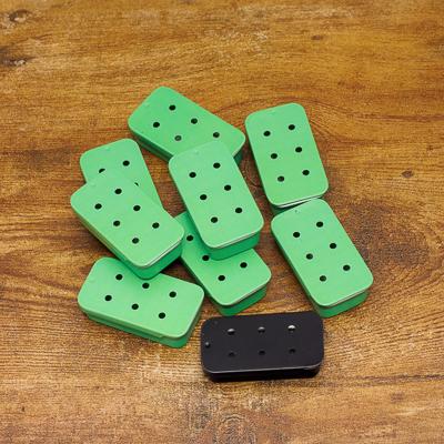 Mint Green Sliders 6 Hole