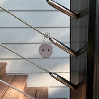 Mini Lacon Hang Hide SILVER Wire