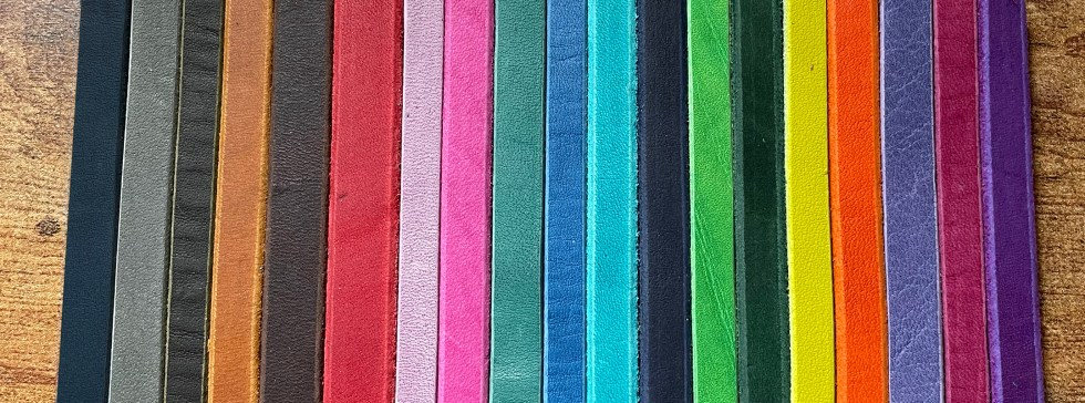 Leather Samples All Colors