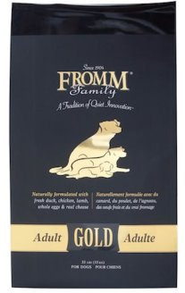 fromm gold dog food
