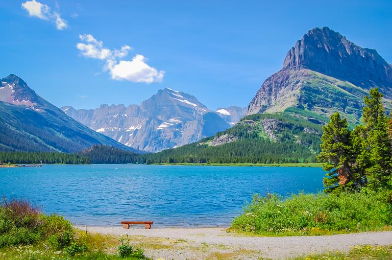 Glacier NP Swiftcurrent Lake