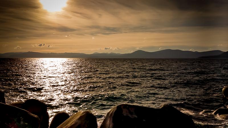 Lake Tahoe's Sand Harbor