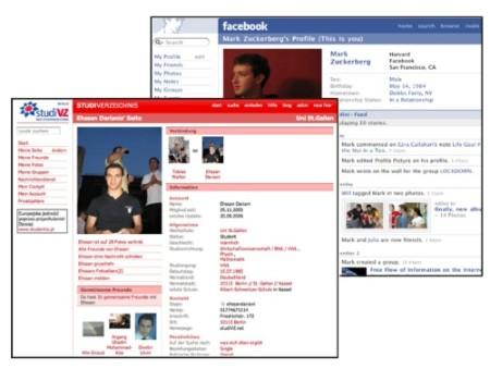 StudiVZ vs. facebook