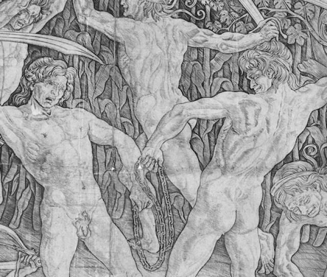 Pollaiuolo Battle Of Ten Nudes Detail