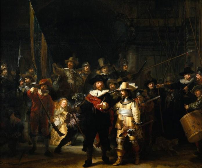 The Night Watch - Rembrandt ile ilgili görsel sonucu