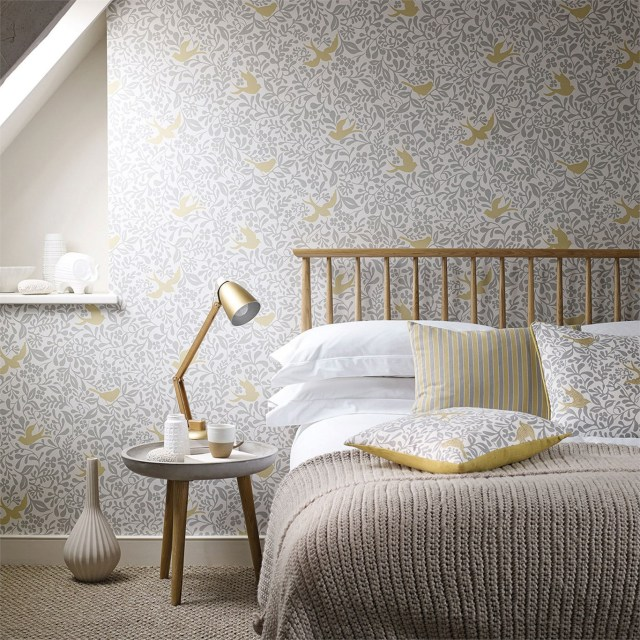 Wallpapers In Bedroom - Bedroom Ideas For Adults (Tips And Designs)