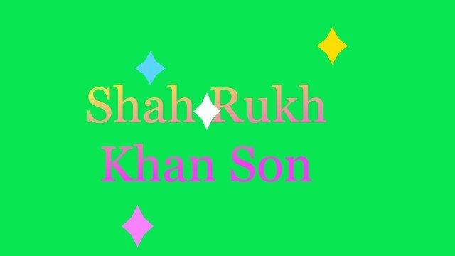 Shah Rukh Khan Son