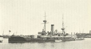 """I 1899 søsatte man det første danske panserskib med navnet """"Herluf Trolle"""" - en hyldest til den gamle søhelt. Glemt er Hr. Luf ingenlunde."""