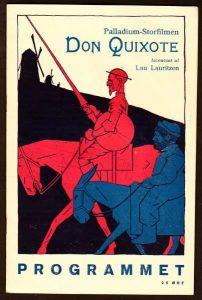 Palladium´s plakat for Lau Lauritzens 1926-filmudgave, med Fyrtaarnet & Bivognen i de altdominerende hovedroller.