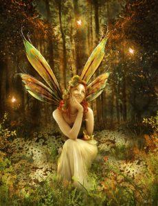 Den moderne fe - en biodynamisk Side 9-pige med vinger (!)