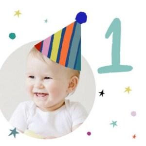 1 jaar felicitatie