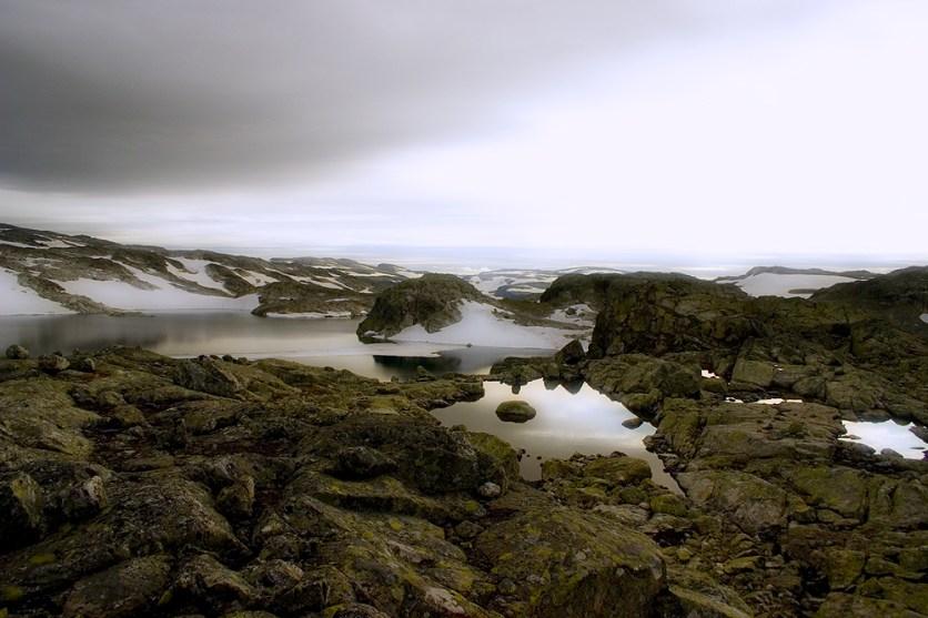 Et karrig landskap