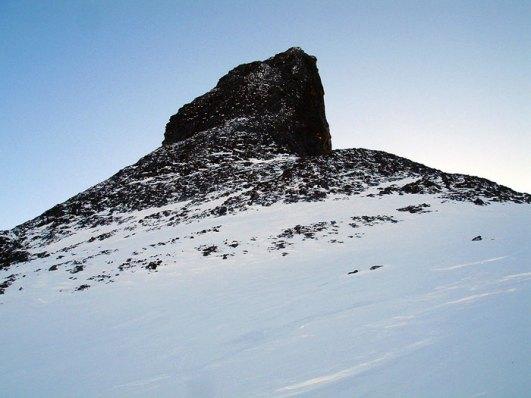 Nordveggen på Romsdalshorn.
