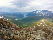 Utsikt mot Beisfjorden