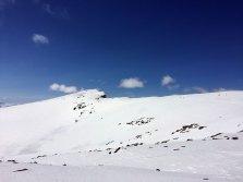 Utsikt mot Austre Kalvehøgde (2178 moh.).