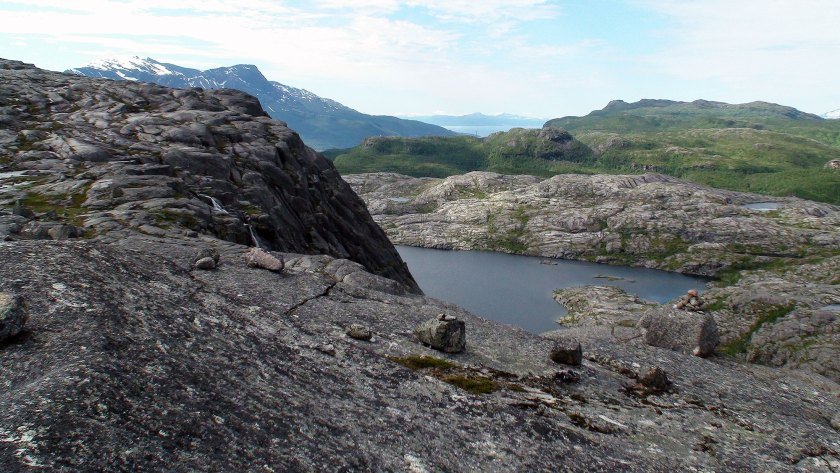 Utsikt mot Dalvatnet.